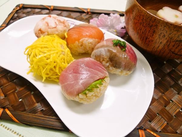 発芽玄米手まり寿司