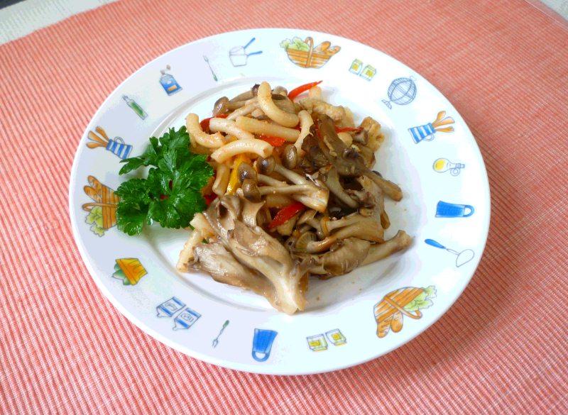 夏野菜のカレースープパスタ