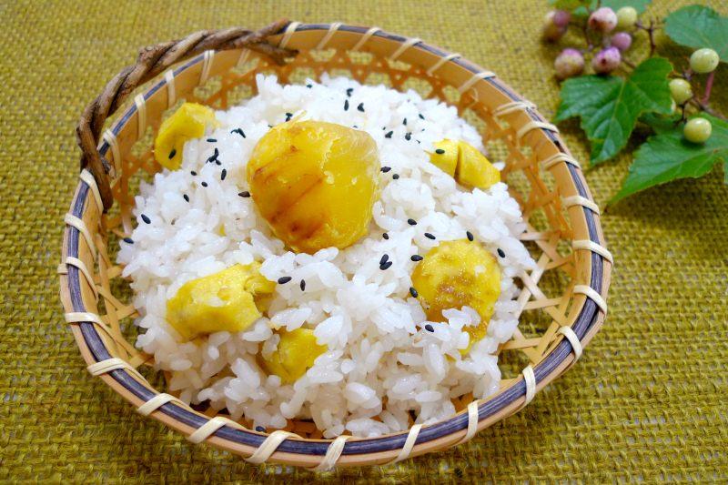 発芽玄米こんにゃく豆ごはん